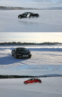 Driving on Ice 66,5°N - Tag 2